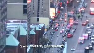 Explosion in Manhattan in New York war ein versuchter Terroranschlag (Screenshot: Reuters)