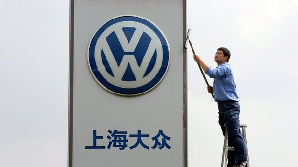 Volkswagen: erstmals drei Millionen Autos nach China. Volkswagen in China