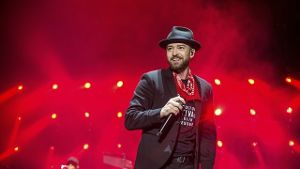 Justin Timberlake 2017 beim Pilgrimage Music and Cultural Festival in Franklin (USA).