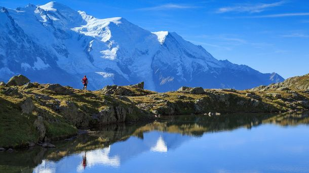 Mont Blanc (Quelle: Thinkstock by Getty-Images/SanderStock)
