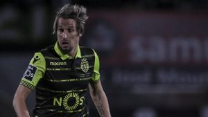January 19 2018 Lisbon Portugal Sporting s defender Fabio Coentrao in action during the Portug