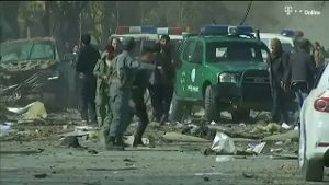 40 Tote nach Selbstmordanschlag in Kabul (Screenshot: Reuters)