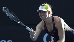 Mona Barthel beim WTA-Turnier in St.