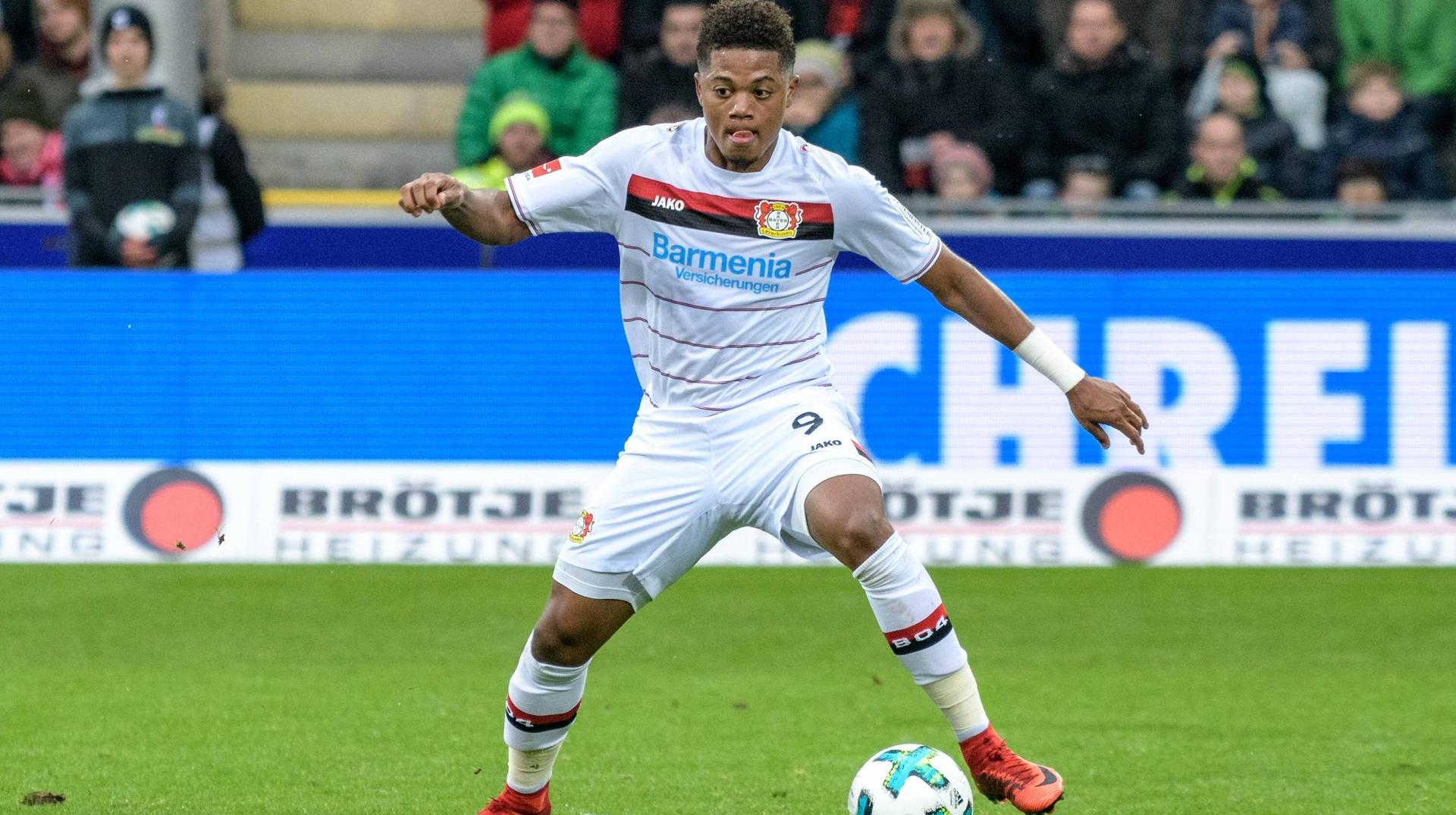 Bayer 04 - Bremen: DFB-Pokal im Live-Ticker. Bayers Leon Bailey ist aktuell in Topform. (Quelle: Beautiful Sports)