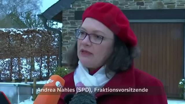 Nahles fordert Ende der Personaldebatte in SPD (Screenshot: Reuters)