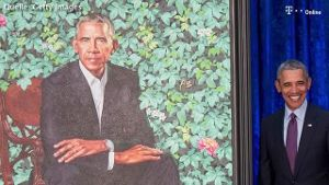 Obama-Portraits enthüllt (Screenshot: Bitprojects)