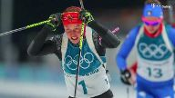 Doppel-Olympiasiegerin Laura Dahlmeier hat bei den Winterspielen in Pyeongchang in ihrem vierten Rennen erstmals keine Medaille gewonnen. (Screenshot: dpa)