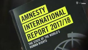 Amnesty International stellt Jahresbericht vor (Screenshot: Reuters)