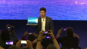 Huawei stellt Matebook X Pro vor (Screenshot: Reuters)