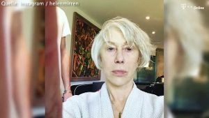 Oscarpreisträgerin Helen Mirren zeigt Make-up-Verwandlung (Screenshot: Bitprojects)