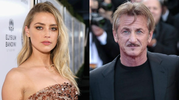 amber heard und sean penn beim date erwischt. Black Bedroom Furniture Sets. Home Design Ideas