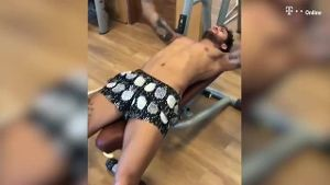 Video aus dem Fitnessstudio: Neymar schuftet für Comeback (Screenshot: Instagram)
