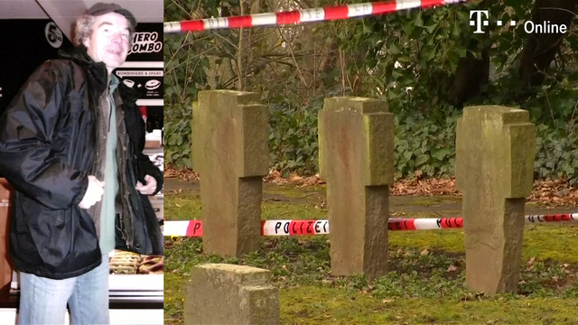 Obdachloser auf Friedhof enthauptet (Screenshot: Reuters)