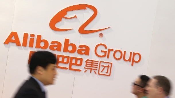 Alibaba Group: Chinesischer Online-Riese macht Amazon Konkurrenz. Internetkonzern Alibaba (Quelle: dpa/Christian Charisius)