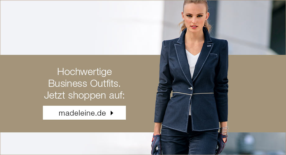 Business-Outfits bei MADELEINE
