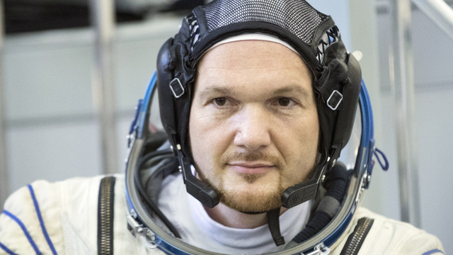 Astro-Alex: Deutscher Star in Star City (Screenshot: dpa)