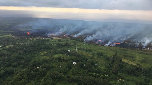 Hawaii's Kilauea Volcano Erupts (Quelle: dpa/ZUMA Press)