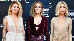 Die Looks der diesjährigen Billboard Awards: Julia Michaels, Jennifer Lopez und Hailey Baldwin.
