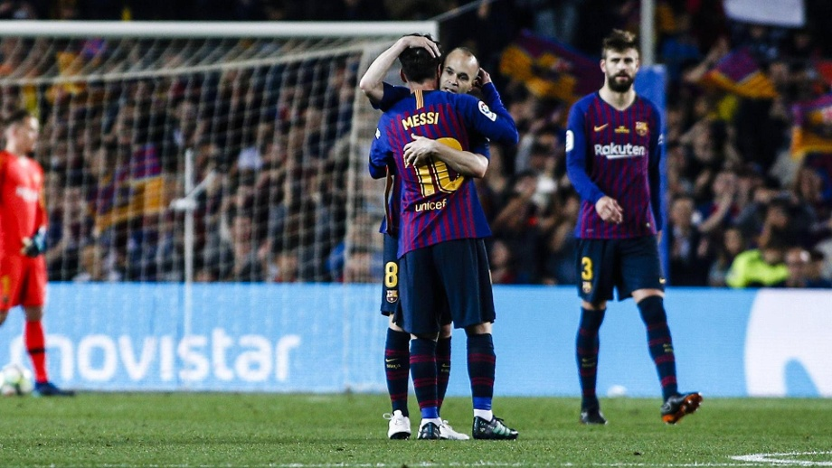 9a600e07a7c1c5 FC Barcelona  Emotionaler Abschied von Andres Iniesta