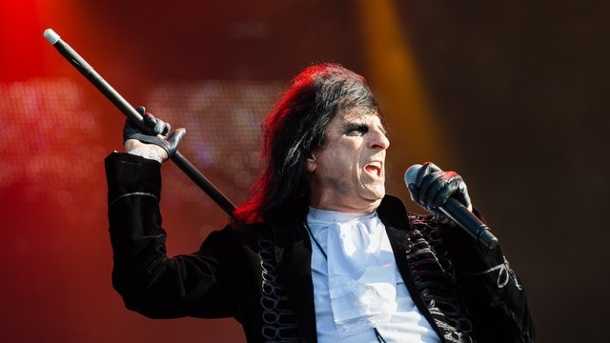 Rocker Alice Cooper: Mit 70 in Bestform. Alice Cooper