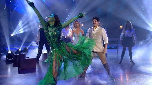 """Judith Williams mit """"Wicked""""-Freestyle bei """"Let's Dance"""" (Quelle: RTL)"""