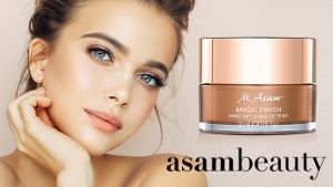 Perfekt Aussehen in 1 Min. mit Magic Finish Make-up von asambeauty
