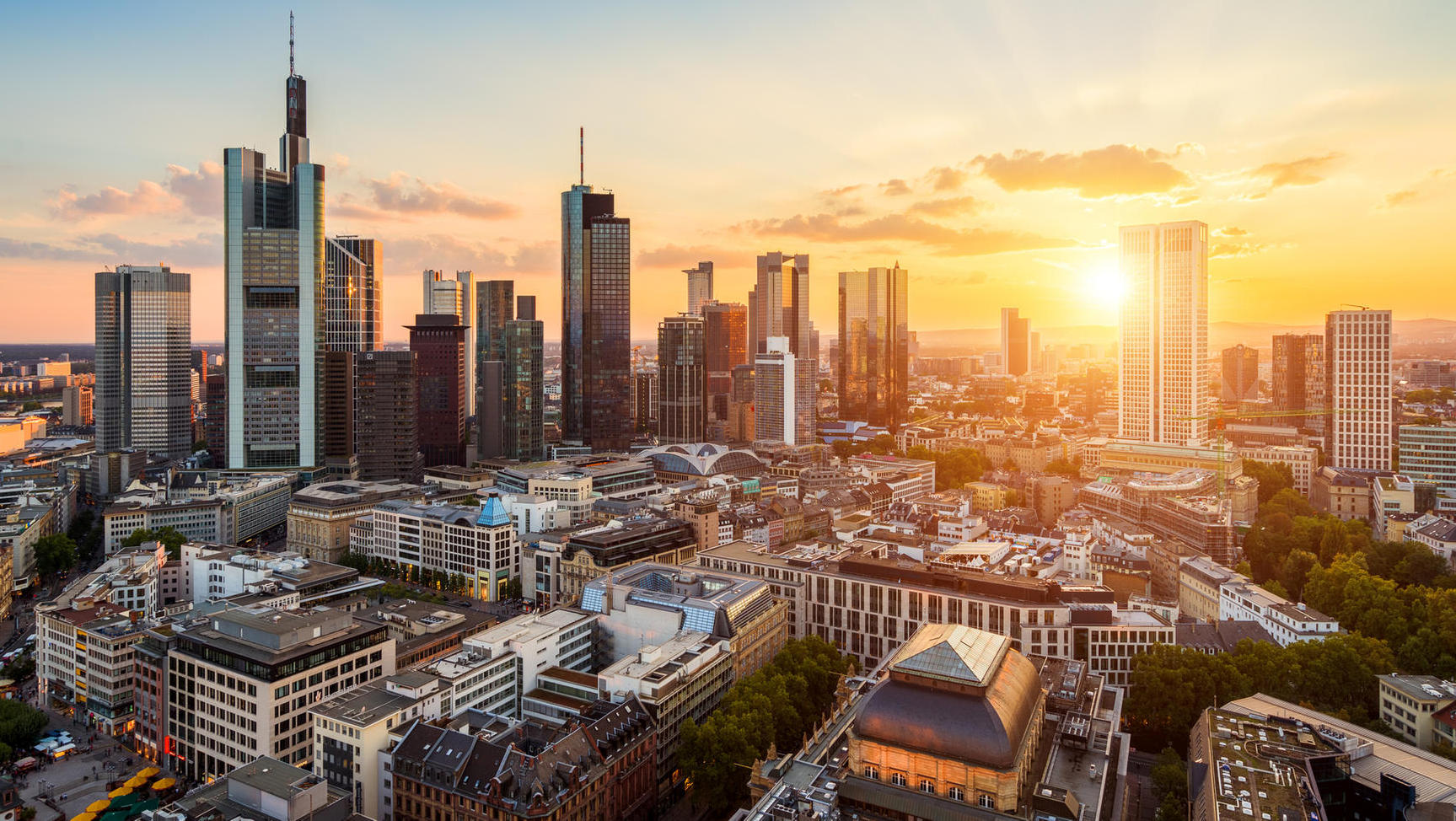 Frankfurt am Main Skyline (Quelle: Getty Images/David J. Engel)