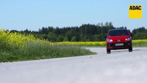 Der VW UP! GTI im ADAC-Test (Screenshot: ADAC)