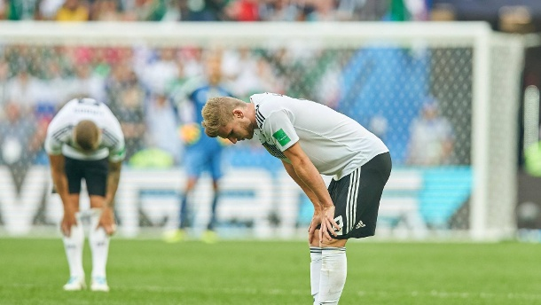 Germany Mexico Soccer Moscow June 17 2018 Timo WERNER DFB 9 Toni KROOS DFB 8 sad disappoint (Quelle: Imago)