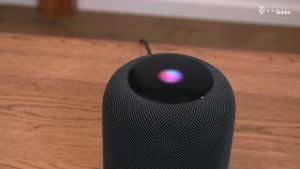 Apples HomePod im Test (Screenshot: t-online.de)