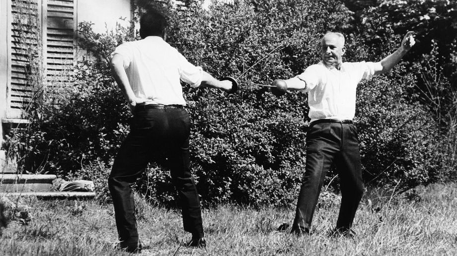Duel Between Gaston Defferre And The Deputy Ribiere In 1967