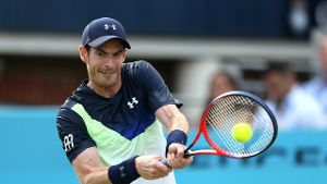 Will den Wimbledon-Start wagen: Andy Murray.