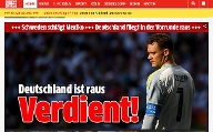 """Verdient!"", meint der ""Express"".  (Quelle: Screenshot)"