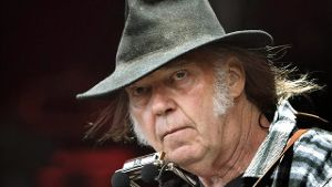 Neil Young 2016 beim Roskilde Festival.