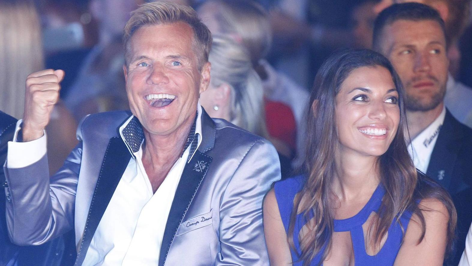 The wife of Dieter Bohlen Carina uses a tattoo of love for ...