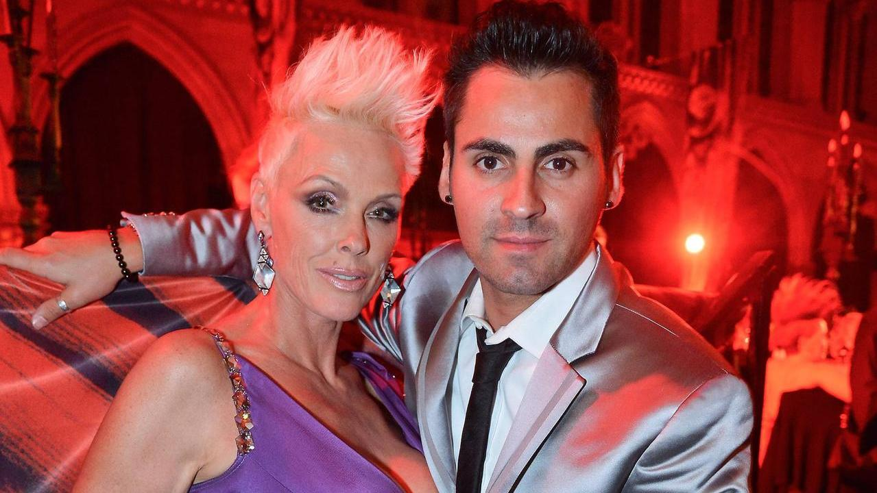 brigitte nielsen berrascht mit liebeserkl rung an mattia. Black Bedroom Furniture Sets. Home Design Ideas