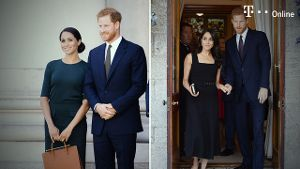 Prinz Harry und Herzogin Meghan Markle: Sexy Look und Outfit-Marathon (Screenshot: Rueters)