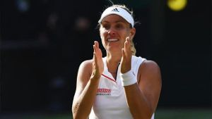 Wimbledon: Angelique Kerber gewinnt Finale gegen Serena Williams (Screenshot: Omnisport)
