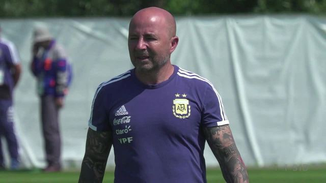WM-Debakel: Argentinien-Trainer Sampaoli entlassen (Screenshot: SID)
