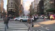 Gasleitung explodiert in Manhattan