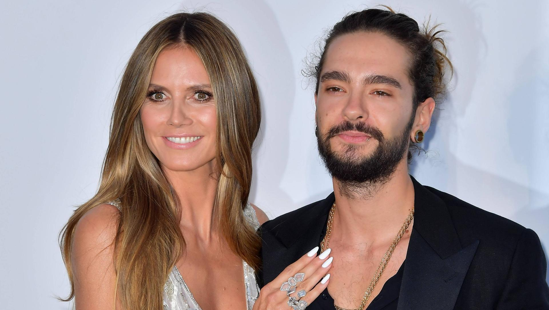 heidi klum und tom kaulitz wilde knutscherei in blauer grotte. Black Bedroom Furniture Sets. Home Design Ideas