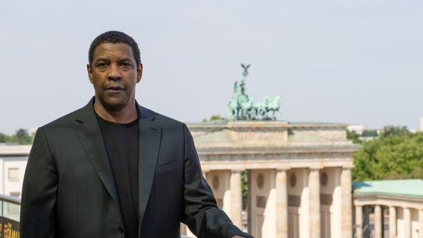"Denzel Washington in Berlin: ""Ist der ganze Sommer so heiß?"". Denzel Washington"