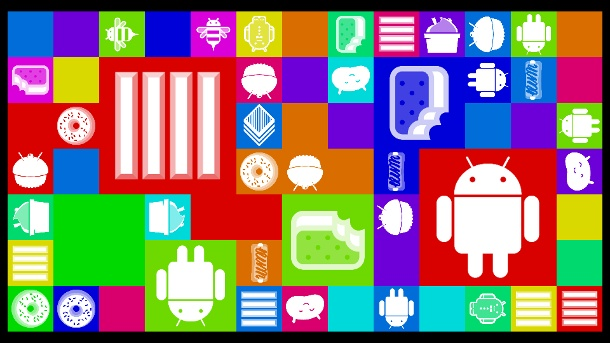 (Quelle: Screenshot Android Easter Egg Collection)