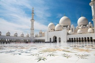 Sheikh-Zayed-Moschee in Abu Dhabi (Quelle: Getty Images/badahos)