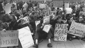 Demonstrationen 1962 (Quelle: ullstein bild)