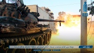 Panzer der Rebellen in Idlib (Quelle: AP/dpa/Ibaa News Network)