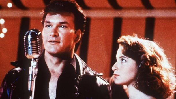 "Unvergessen: Patrick Swayze spielte mit Jennifer Grey in dem Kultfilm ""Dirty Dancing"". (Quelle: imago/United Archives)"