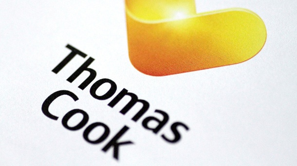 Mysteriöse Todesfälle in Ägypten: Thomas Cook quartiert Hotelgäste um. Thomas Cook Logo (Quelle: Reuters/Thomas White/Illustration/File Photo)