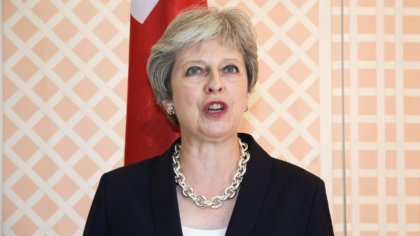 Theresa May  (Quelle: imago)