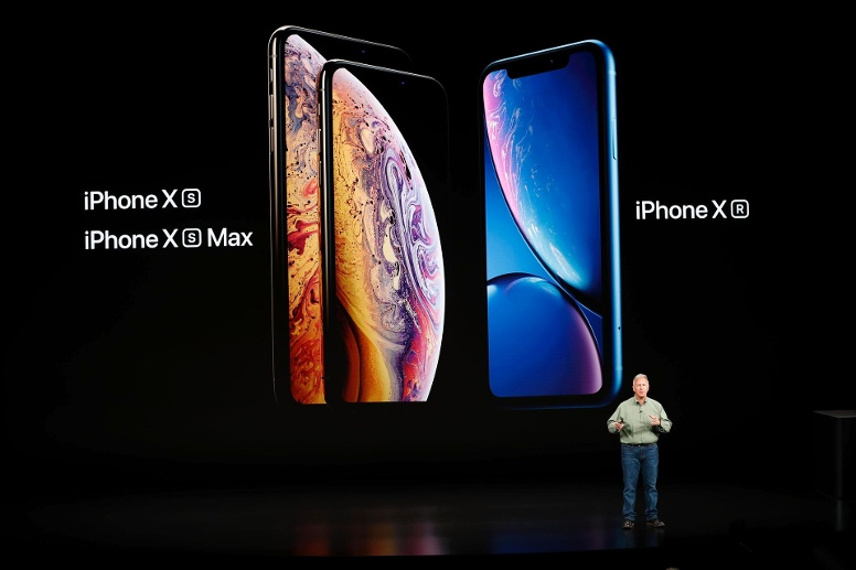 Apple hat bei seinem Event in Cupertino drei neue iPhones vorgestellt. Das iPhone XS, das iPhone XS Max und das iPhone XR. (Quelle: Reuters/Stephen Lam)